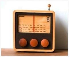 Wooden Radio (S)