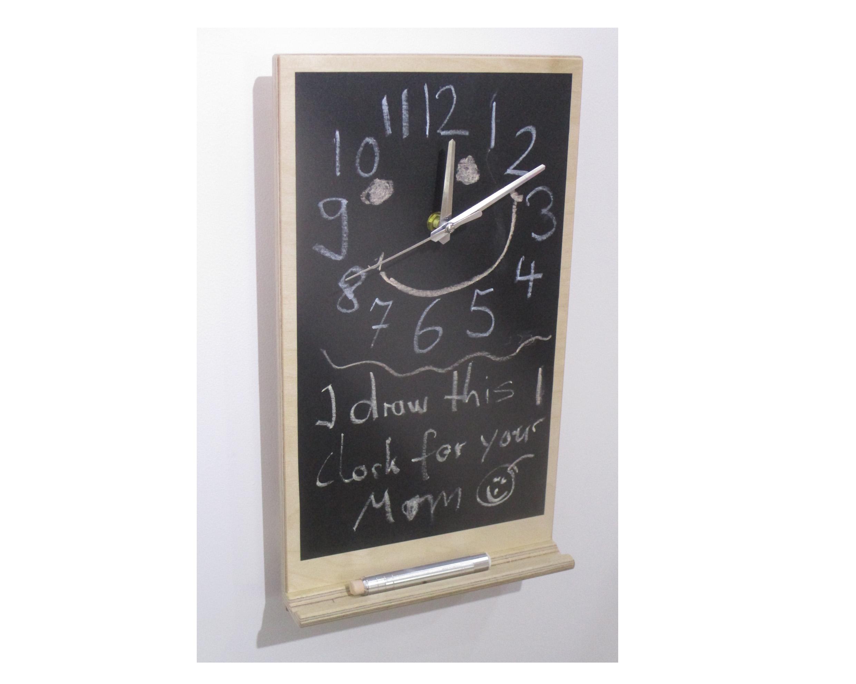 Chalk Board Clock