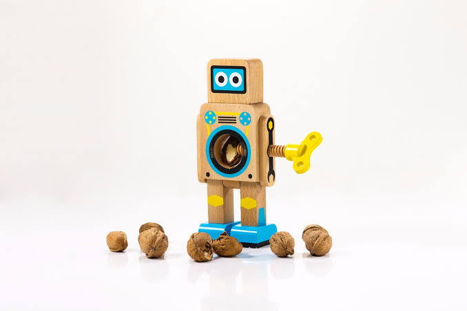 Robot Nut Cracker Yellow