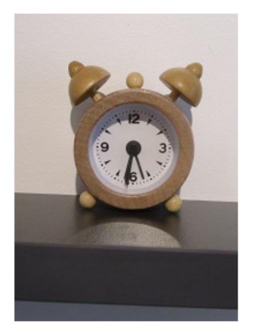 Smallest wooden Alarm Clock