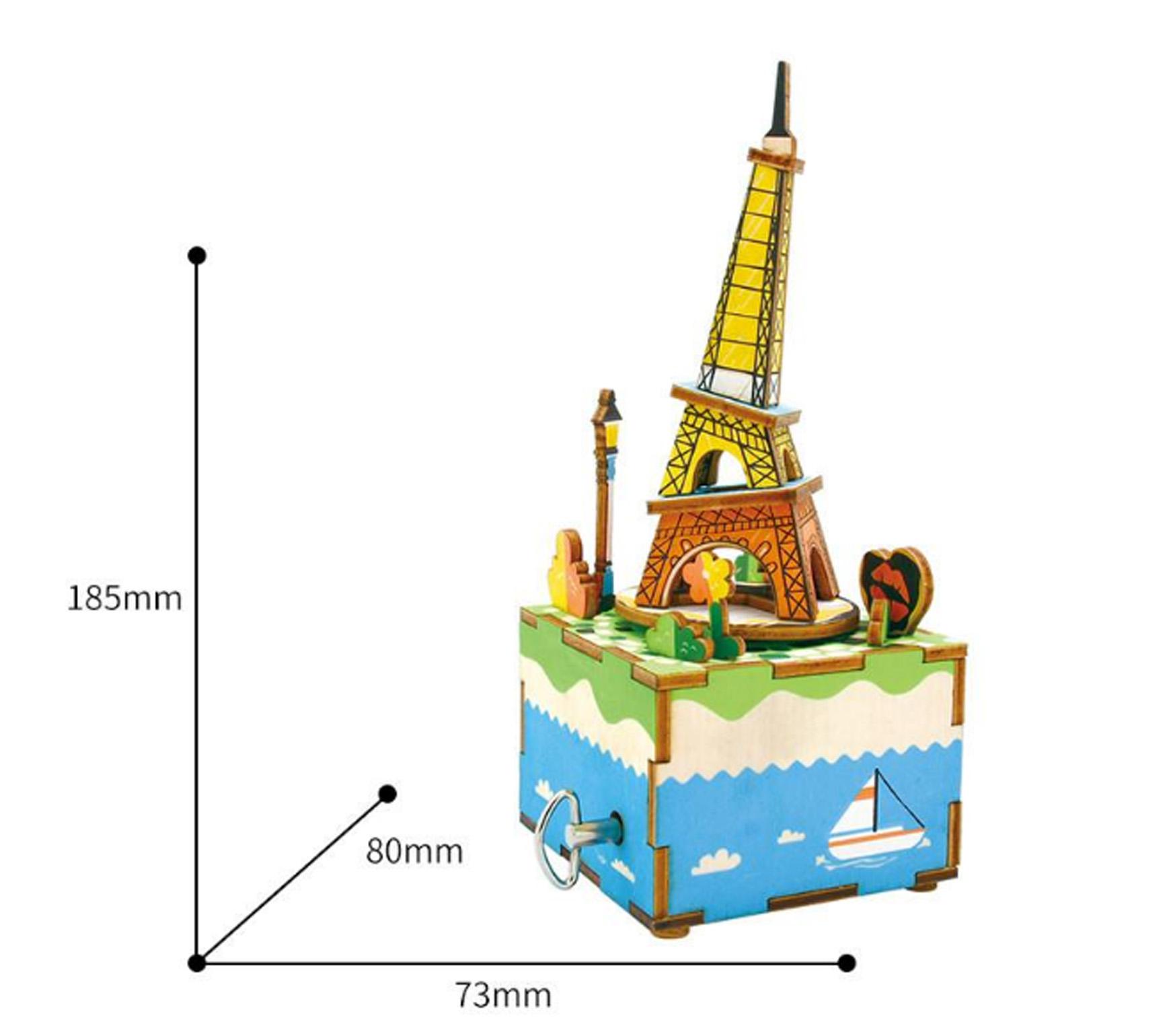 paris with measurement