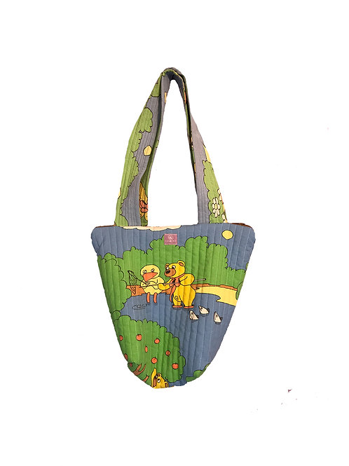 Quilted Bag Bamse&Kylling