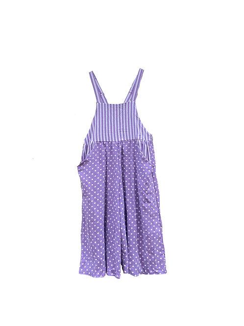 Caroline Overall Dots & Stripes