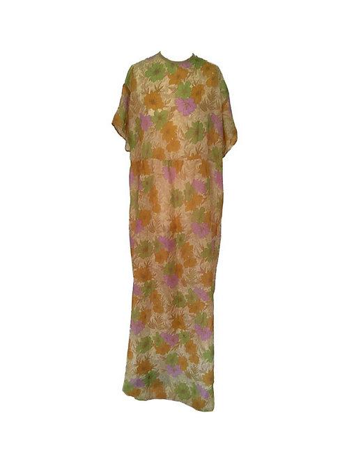 Tabby Dress Flowers