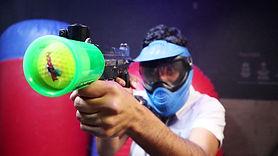 Bazooka Ball game in Queenstown Thrillzone