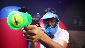 Bazooka Ball in queenstown new zealand thrillzone