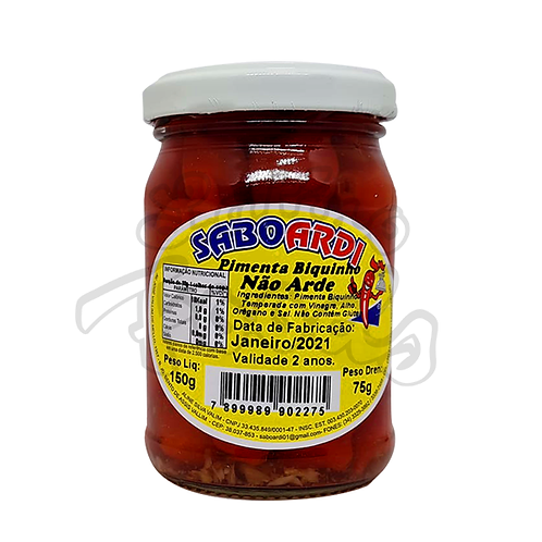 SABOARDI Biquinho Pepper - 75g