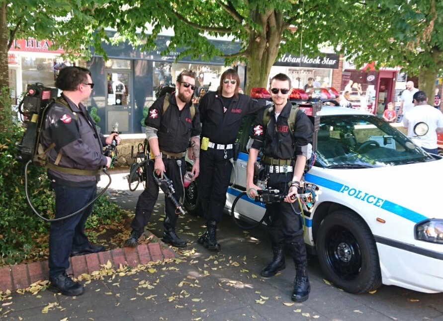 The Real Essex Ghostbusters!