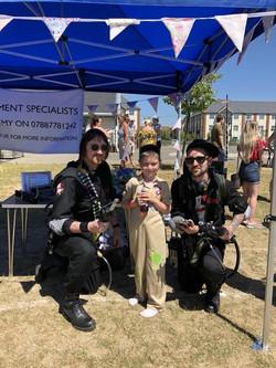 Deputy Ghostbuster Bradley!