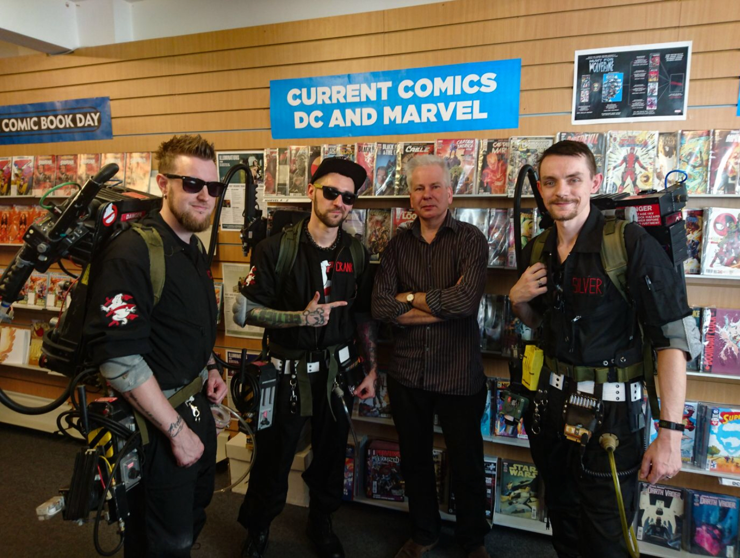 """Geeks"" Colchester Comic-Con 2018"