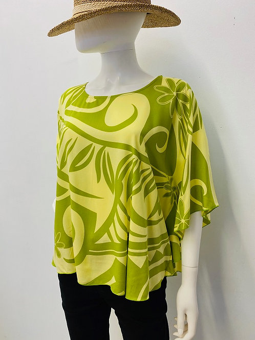 CIRCLE TOP (Yellow-Lime) Maile