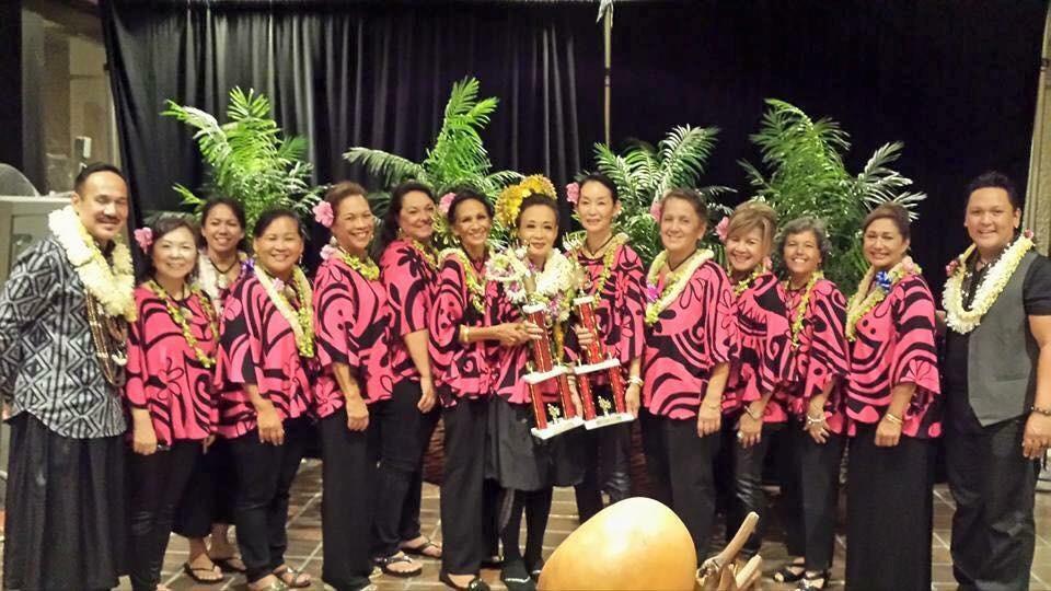 Halau Na Mamo O Pu'uanahulu Golden Kupuna. Congrats!!