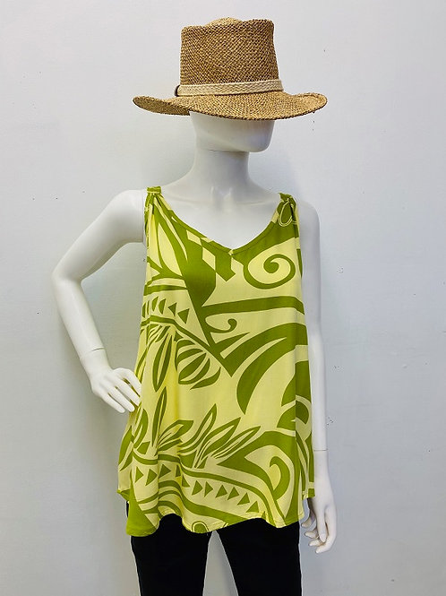 TANK TOP (Yellow-Lime)Maile