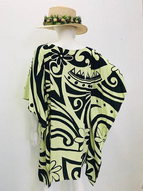 Baggy dress (Black-Citron)Tiare