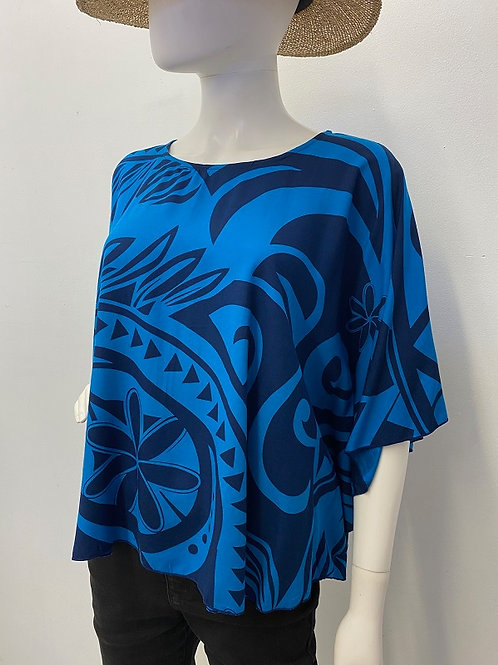 CIRCLE TOP (Blue-Blue) Maile2