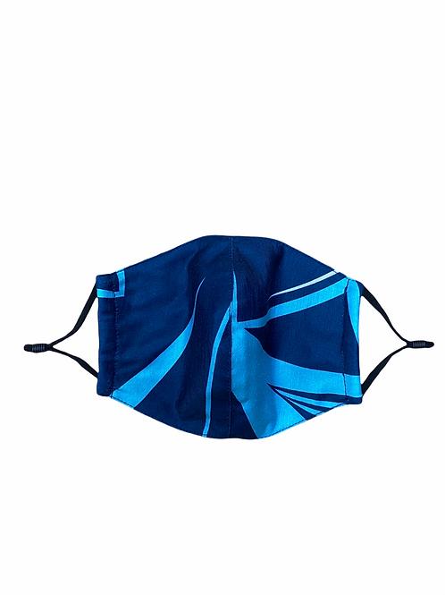 Mask (Navy-Blue) Plumelia