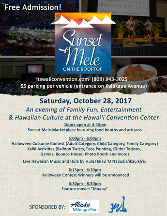 "We are here,,, Sunset Mele Oct,28th Movie "" Moana"""