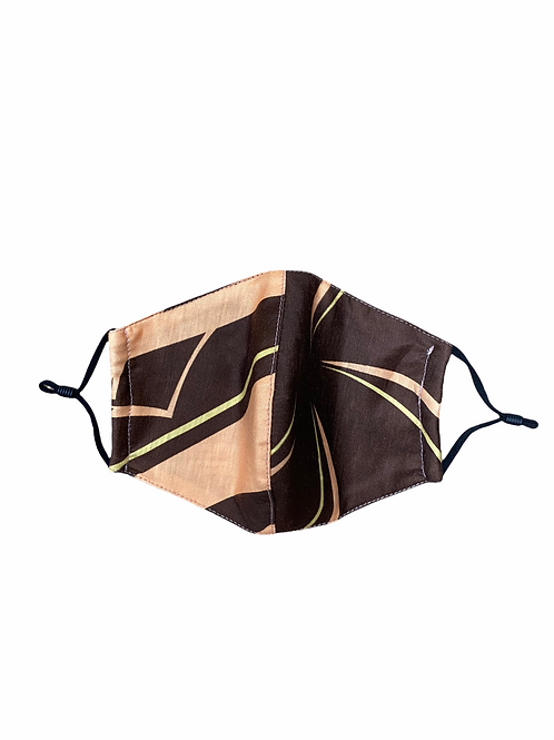 Mask (Brown-Orange) Plumelia