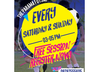 Register now for free trial at our new venue BSS Parama !!!