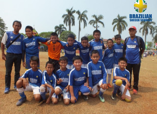BSS Lfa winning second place at Liga Pelajar Haornas