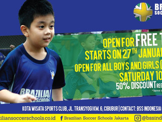 BSS Now Open at Cibubur.. Open for free trial, Register now !!