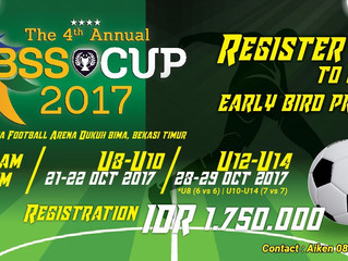 OPEN REGISTRATION BSS CUP 2017