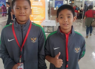 Congratulation Bintang and Dimas, two of our member at BSS LFA for joining U12 Timnas Pelajar Indone
