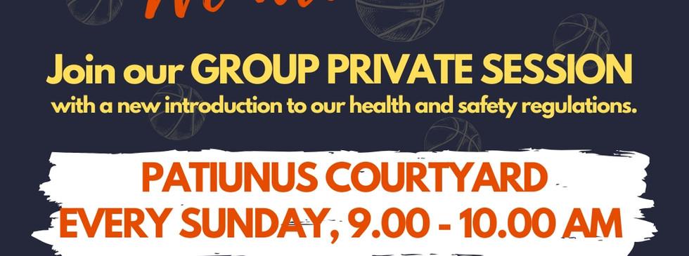 Group Private Session at Patiunus