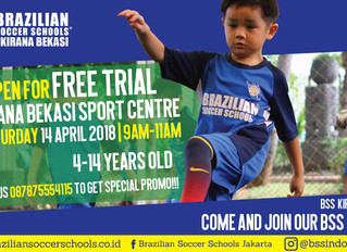 BSS now opening new venue at Kirana Bekasi !! Open fore free trial, Register now !!