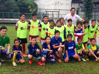 Brazilian Soccer Schools Jakarta Sparing with Rabona Soccer School