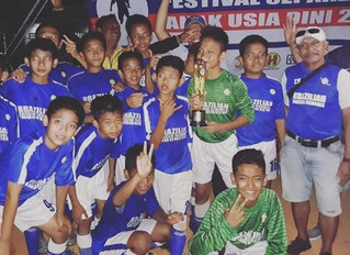 BSS Lfa U12 second place at Tournament Garuda Anak Nusantara