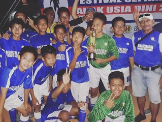 BSS Lfa U12 second place at Tournament Garuda Anak Nusantara