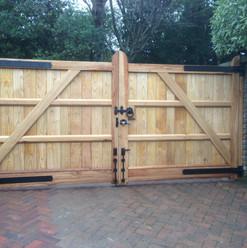 Oak Garden Fence