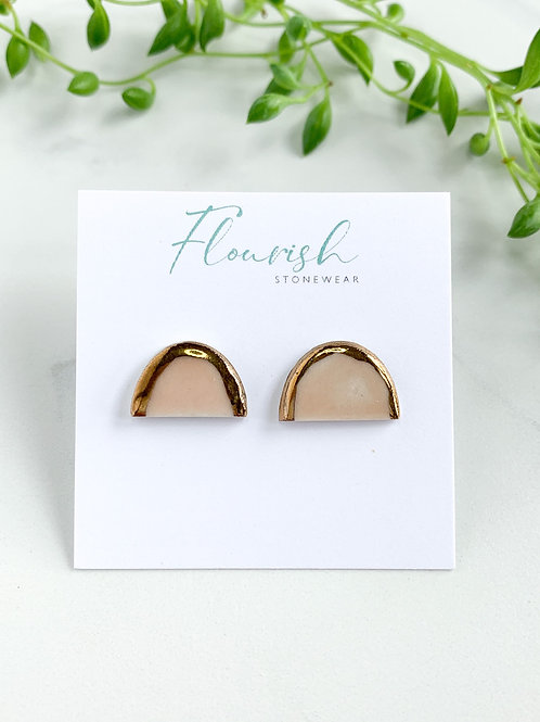 Pale Pink Arch Studs