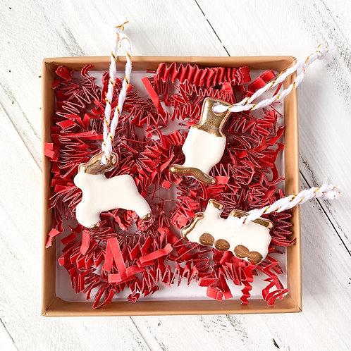Joy of Christmas Ornament Gift Box Set