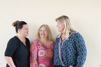 Yvonne Müller, Nicole Müller, Ilona Schmidt, verkaufen Unikate im Palatso