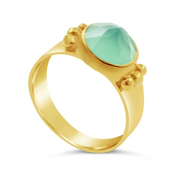 Auryn-Schmuck-Silber-925-18K-vergoldet-Chalcedon-Ring-Water's-Secret-BTR-010