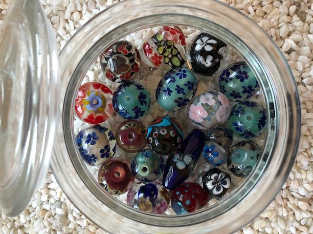 diverse Glasperlen