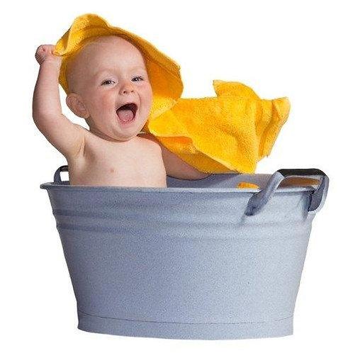 Honey, I bathed the kids
