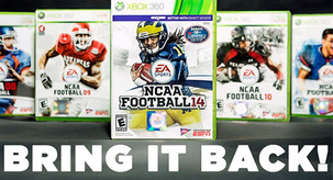 Wake Up EA Sports! Bring Back NCAA Football!
