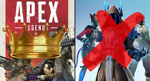 Sorry Fortnite...We Are Sliding With Apex Legends