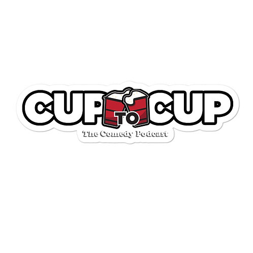 Another Cup to Cup Sticker