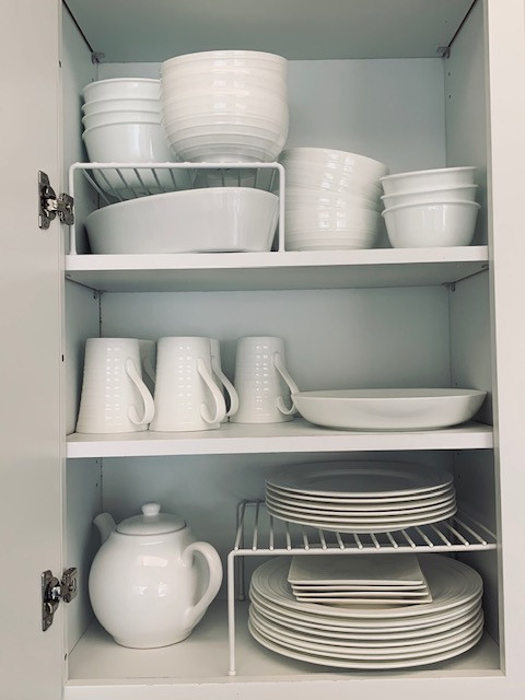 Easily find things when you place is organized.