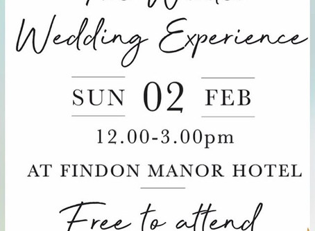 Findon Manor Winter Showcase