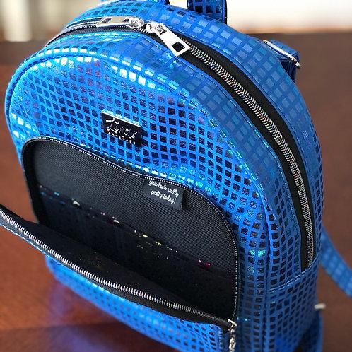 Disco Blue LindSport mini backpack