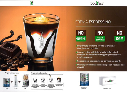 Foodness crema Espressino
