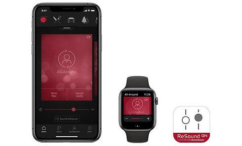 ReSound-Smart-app-support-iPhone-iWatch.
