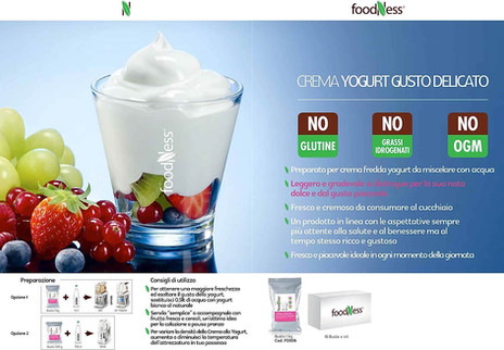 Foodness crema fredda yogurt