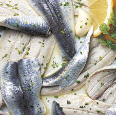 Filetti di sardine marinati