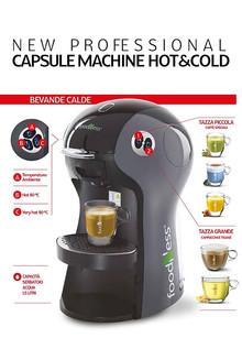 Foodness macchina capsule Professional